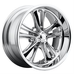 Foose Wheels F09718806145 Knuckle Wheel, 18x8, Chrome Plated