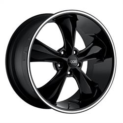 Foose Wheels F104208521+35 Legend Wheel, 20x8.5, Gloss Black