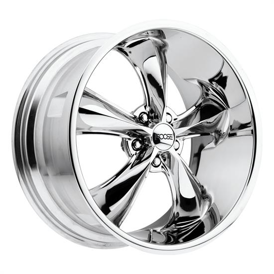 Foose Wheels F10517806545 Legend Wheel, 17x8, Chrome Plated