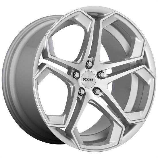 Foose Wheels F170209065+35 Impala Wheel, 20x9, Silver Machined