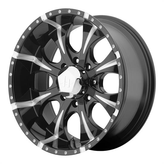 Helo HE7918987912 Maxx Series Wheel, 18 x 9