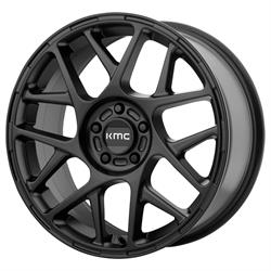 KMC KM70857051710 Bully Series Wheel, 15 x 7