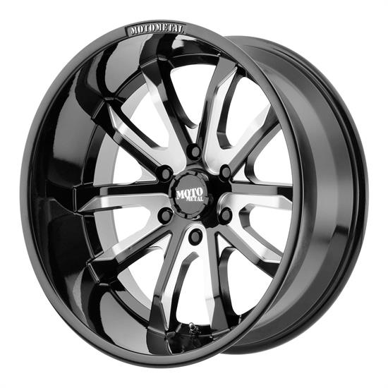 Moto Metal MO98321250344N Dagger Series Wheel, 20 x 12