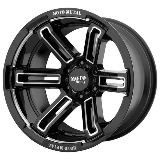 Moto Metal MO99179050312N Rukus Series Wheel, 17 x 9