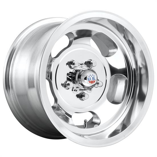 US Mags U10115806140 Indy Wheel, 15x8, High Luster Polished