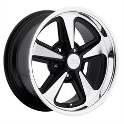 US Mags U10917806145 Bandit Wheel, 17x8, Matte Black Machined