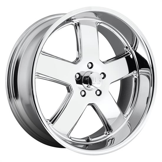 US Mags U11620956152 Hustler Wheel, 20x9.5, Chrome Plated