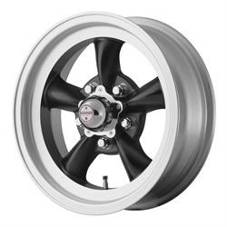American Racing VN1055665B Torq Thrust D Series Wheel, 15 x 6