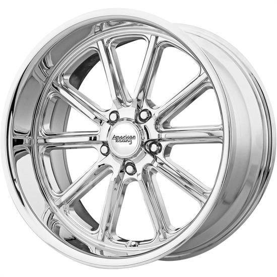 American Racing VN50728050200 Rodder Series Wheel, 20 x 8