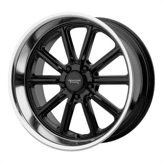 American Racing VN50789550300 Rodder Series Wheel, 18 x 9.5
