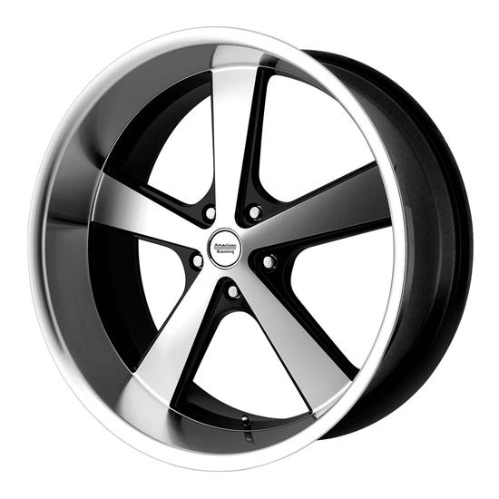 American Racing VN70121050318 Nova Series Wheel, 20 x 10