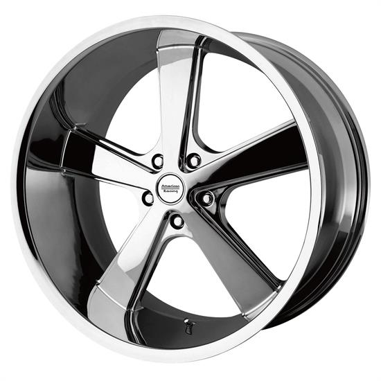 American Racing VN70128550200 Nova Series Wheel, 20 x 8.5