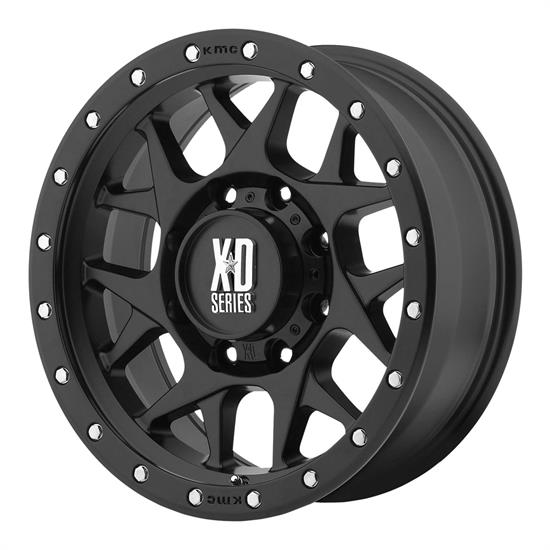 XD XD12778563700 Bully Series Wheel, 17 x 8.5