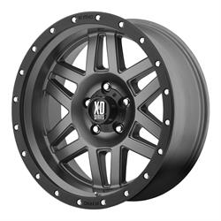 XD XD12879068412N Machete Series Wheel, 17 x 9