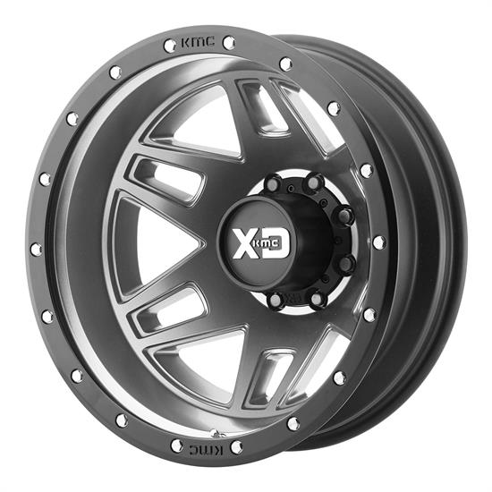XD XD130765804140N Machete Dually Series Wheel, 17 x 6.5