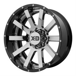 XD XD200-22128844NCB Heist Series Wheel, 22 x 12