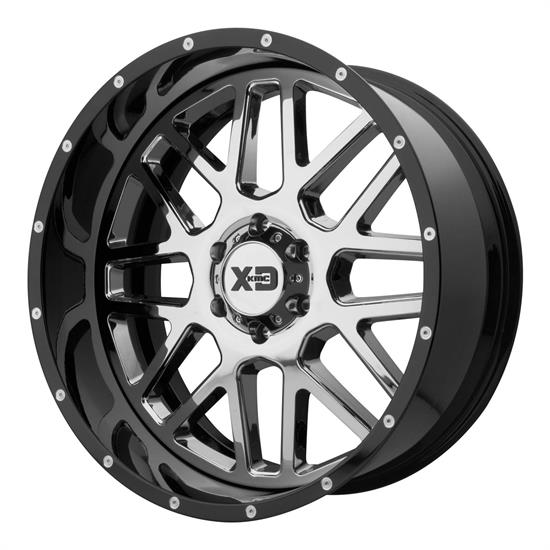 XD XD201-22108018NCB Grenade Series Wheel, 22 x 10