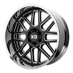 XD XD201-22128044NBC Grenade Series Wheel, 22 x 12