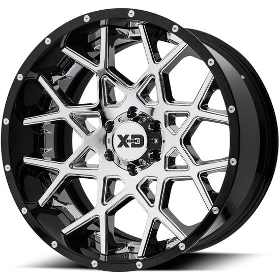 XD XD203-20105018NCB Chopstix Series Wheel, 20 x 10