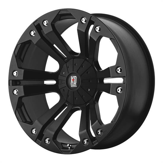XD XD77889080718 Monster Series Wheel, 18 x 9
