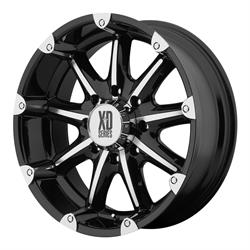XD XD77929068318 Badlands Series Wheel, 20 x 9