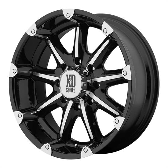 XD XD77989080318 Badlands Series Wheel, 18 x 9