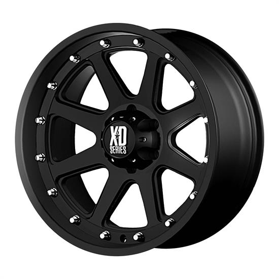 XD XD79879050718 Addict Series Wheel, 17 x 9