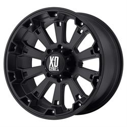 XD XD80029087700 Misfit Series Wheel, 20 x 9