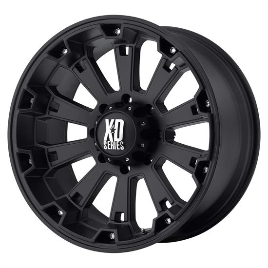 XD XD80079080700 Misfit Series Wheel, 17 x 9