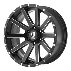 XD XD81878050935 Heist Series Wheel, 17 x 8