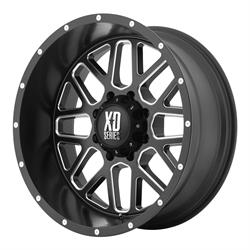 XD XD82021050924N Grenade Series Wheel, 20 x 10