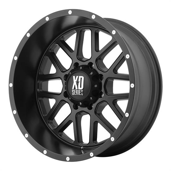 XD XD82029068700 Grenade Series Wheel, 20 x 9
