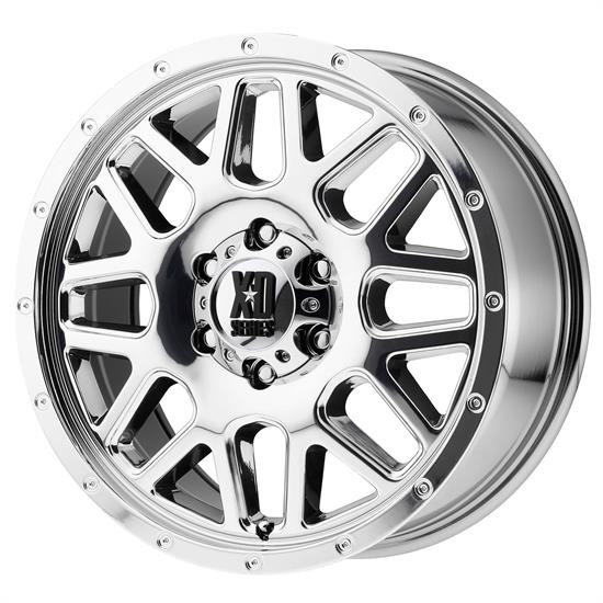 XD XD82029087200 Grenade Series Wheel, 20 x 9