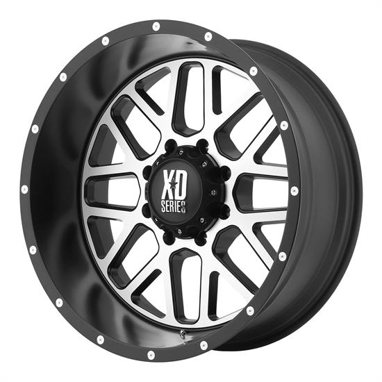XD XD82089088518 Grenade Series Wheel, 18 x 9