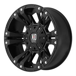 XD XD82289080718 Monster 2 Series Wheel, 18 x 9