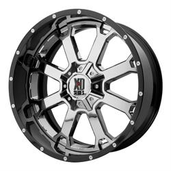 XD XD202-20108518NCB Buck 25 Series Wheel, 20 x 10