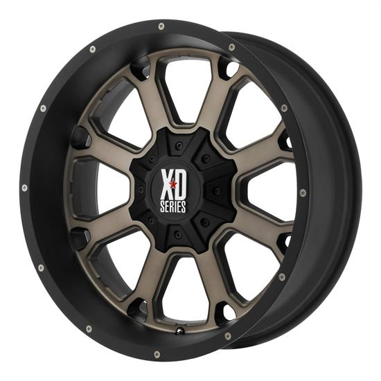 XD XD82521035724N Buck 25 Series Wheel, 20 x 10