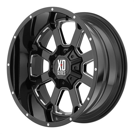 XD XD82529088300 Buck 25 Series Wheel, 20 x 9