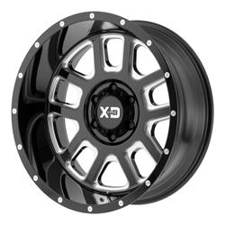 XD XD82829058300 Delta Series Wheel, 20 x 9