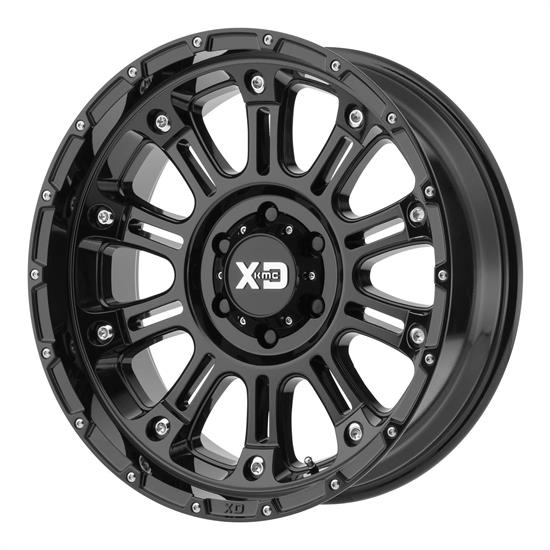 XD XD82921050324N Hoss 2 Series Wheels, 20 x 10