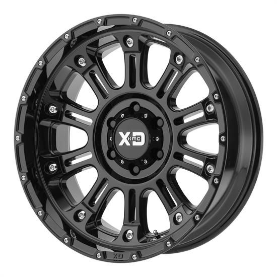 XD XD82921085324N Hoss 2 Series Wheels, 20 x 10
