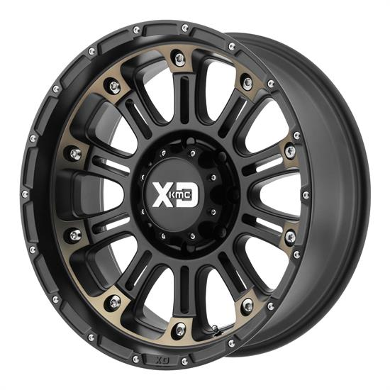 XD XD82929058912N Hoss 2 Series Wheels, 20 x 9