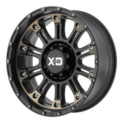 XD XD82979068912N Hoss 2 Series Wheels, 17 x 9