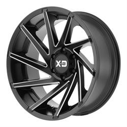 XD XD83421050918N Cyclone Series Wheel, 20 x 10