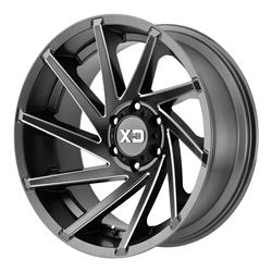 XD XD83429087400 Cyclone Series Wheel, 20 x 9