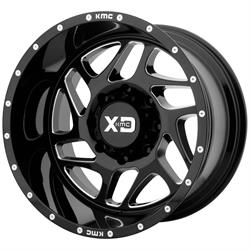 XD XD83622080318N Fury Series Wheel, 22 x 10
