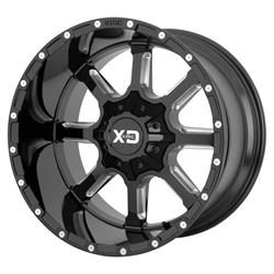 XD XD83821287344N Mammoth Series Wheel, 20 x 12