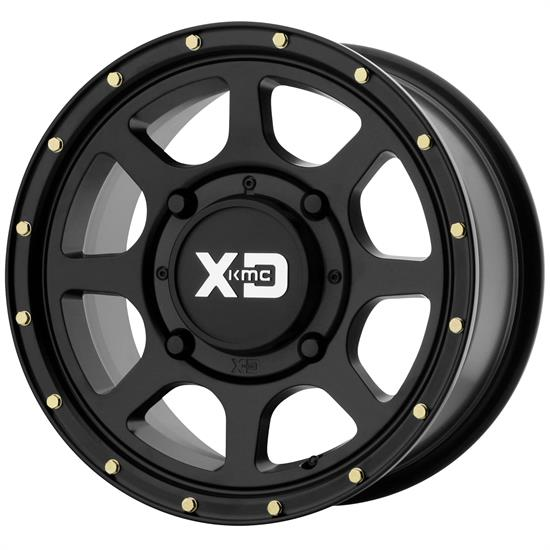 XD XS13456048738 Addict 2 Series Wheel, 15 x 6