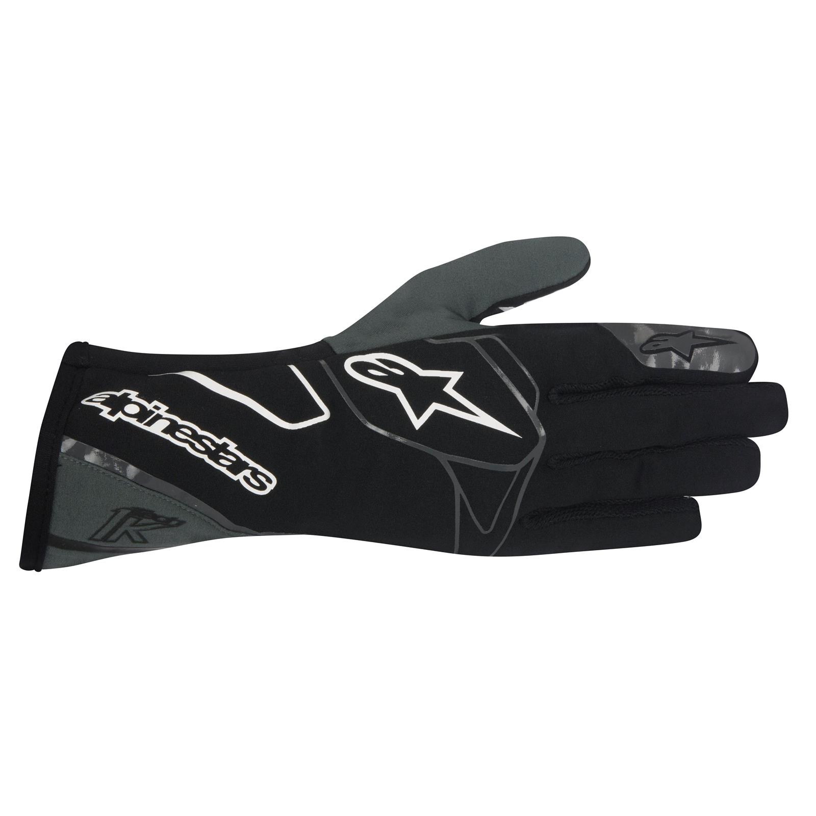 Adult Green Skeleton XS-XL go Kart Driver Racing Karting Driving Gloves