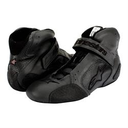 Alpinestars Tech 1-T SFI/FIA Racing Shoes, Nomex Lining, Black Size 8
